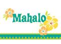 Mahalo 5.25x3.75 Folded Card