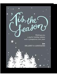 Starry Season 5x7 Flat Card