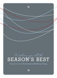 Seasons Best Tinsel 5x7 Folded Card