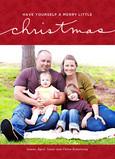 Little Christmas 5x7 Flat Card