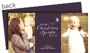 Christmas Sparkle 8x4 Flat Card