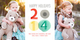 2012 Holidays 8x4 Flat Card