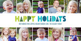 Holiday Photo Strip 8x4 Flat Card
