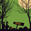 Beware Trick or Treaters 4.75x4.75 Folded Card