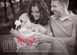Merry Little Christmas 7x5 Flat Card