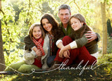 Thankful Photo 7x5 Folded Card