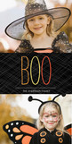 Bright Boo 4x8 Flat Card
