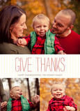 Give Thanks 5x7 Flat Card