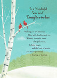 Wonderful Son Christmas 5x7 Folded Card
