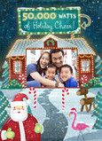 Holiday Photo Cheer 5x7 Folded Card
