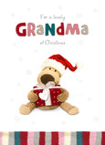 Lovely Christmas Grandma 5x7 Folded Card