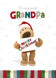Special Christmas Grandpa 5x7 Folded Card
