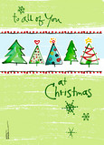 To All of You 5x7 Folded Card