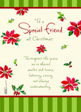 Special Christmas Friend 5x7 Folded Card