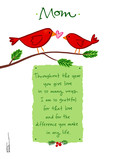 Cardinal Love Christmas 5x7 Folded Card