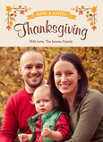 Joyful Thanksgiving 5x7 Flat Card