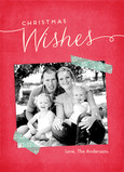 Christmas Wishes 5x7 Flat Card