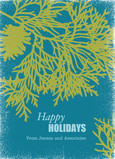 Pinetree Holidays 5x7 Flat Card