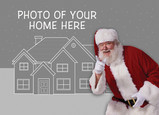 Your Home Santa 7x5 Folded Card