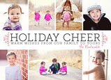 Holiday Cheer Banner 7x5 Flat Card
