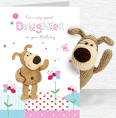 Boofle for Daughter Card and Plush 5x7 Folded Card