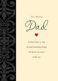 Special Dad Understanding 5x7 Folded Card