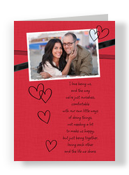 Love Being Us 5x7 Folded Card