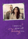 Grow Old Loving 5x7 Folded Card