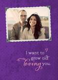 Grow Old Loving 5x7 Folded Card