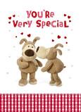 Very Special Valentine 5x7 Folded Card