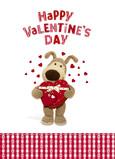 Valentine Chocolate Box 5x7 Folded Card
