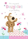 Boofle for Daughter 5x7 Folded Card