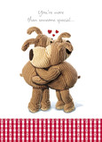 Boofle Hug 5x7 Folded Card