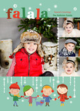 Christmas Caroling Photos 5x7 Flat Card