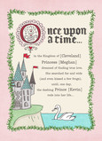 Once Upon a Time 5x7 Folded Card
