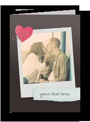 Heart DIY Photo 5x7 Folded Card