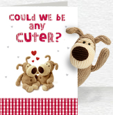 Any Cuter Card and Plush 5x7 Folded Card