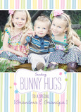 Bunny Hugs 5x7 Folded Card
