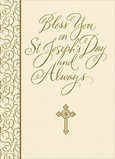 St Josephs Blessing 5x7 Folded Card