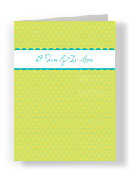 Family Love Joke 5x7 Folded Card