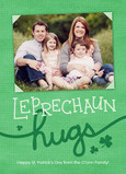 Leprechaun Hugs 5x7 Flat Card