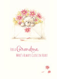 Grandma Across the Miles 5x7 Folded Card