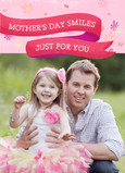 Mother's Day Smiles for You 5x7 Folded Card