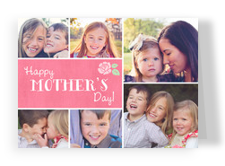 Mother's Day Photos 7x5 Folded Card