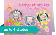Grandma's Photo Garden 7x5 Folded Card