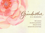 A Blessing of a Grandmother 7x5 Folded Card
