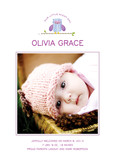 Cute Owl Photo Birth Announcement 5x7 Flat Card