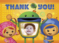 Umizoomi birthday thank you card 5.25x3.75 Folded Card