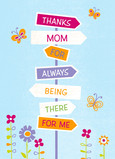 The Right Mother's Day Direction 5x7 Folded Card