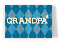 Grandpa to the Nth Degree 7x5 Folded Card